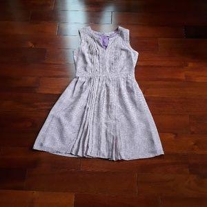 Halogen purple spring dress